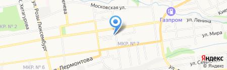 Атриум на карте Ставрополя
