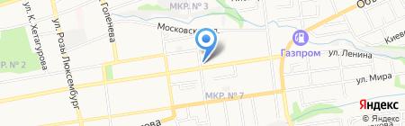 Котопес на карте Ставрополя