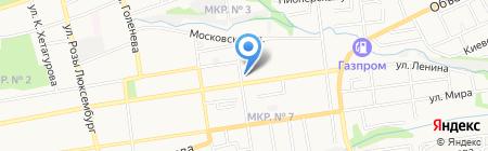 Техсервис-2000 на карте Ставрополя