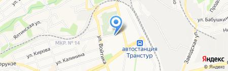 АкваСтрой на карте Ставрополя