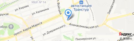 Motel-Respect на карте Ставрополя