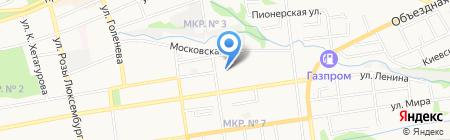 СКСТиК на карте Ставрополя