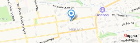 Винни на карте Ставрополя