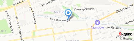 Ставропольский центр профессиональной подготовки и повышения квалификации кадров Федерального дорожного агентства на карте Ставрополя
