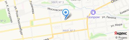 Мир грёз на карте Ставрополя