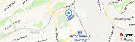 Злата на карте Ставрополя
