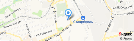 Мебель-26 на карте Ставрополя