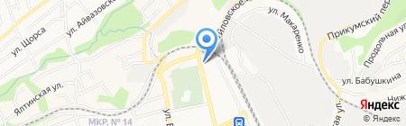 Юридическая компания на карте Ставрополя