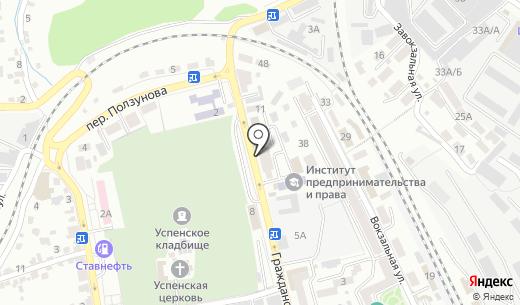 Buksir. Схема проезда в Ставрополе