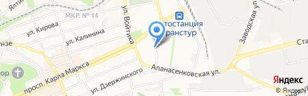 Авторитет на карте Ставрополя