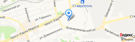 Мираж на карте Ставрополя