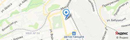 МИПП на карте Ставрополя