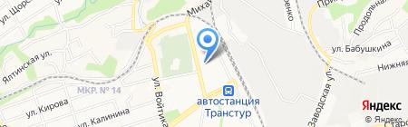 Метеор на карте Ставрополя