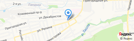 ЛимузинСтав на карте Ставрополя