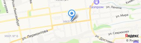 Kompliment на карте Ставрополя