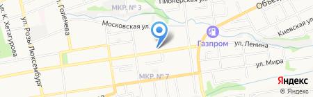 Алкор на карте Ставрополя