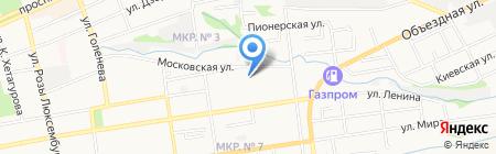 Детский сад №6 на карте Ставрополя