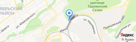 Учреждение архитектуры и градостроительства Ставропольского края на карте Ставрополя