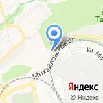 Тодем на карте Ставрополя
