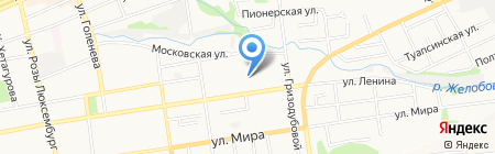 Детский сад №44 на карте Ставрополя