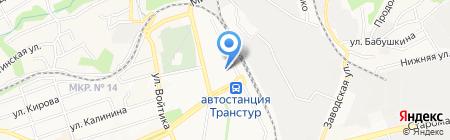 Разъезд на карте Ставрополя