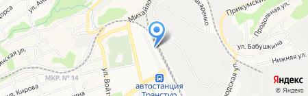 СПЕЦНЕФТЕСНАБ на карте Ставрополя