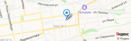 Детский сад №73 на карте Ставрополя