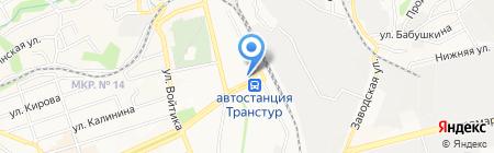 Рассвет на карте Ставрополя