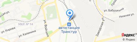 Банкомат АКБ МОСОБЛБАНК на карте Ставрополя