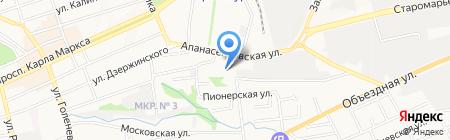 МДК на карте Ставрополя
