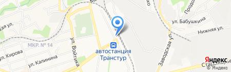 Кубань на карте Ставрополя