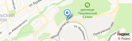 Эль-панчо на карте Ставрополя