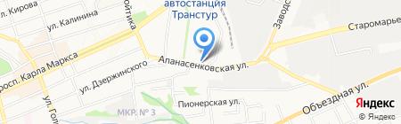 Терем на карте Ставрополя