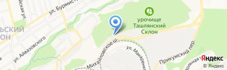 АвтоBOX на карте Ставрополя