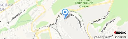 Мастерская по изготовлению адресных табличек на карте Ставрополя