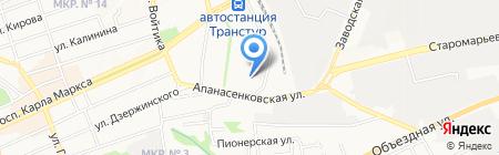 ЛАМИНАТ быстросклад строй-сити на карте Ставрополя