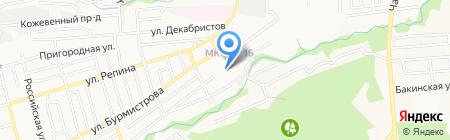 СКГЦ на карте Ставрополя