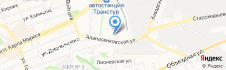 Авалон на карте Ставрополя
