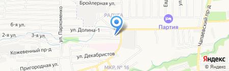 Антанта-Логика на карте Ставрополя