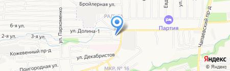 Сервис Карьеров-ЮГ на карте Ставрополя