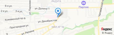 Краевой клинический кардиологический диспансер на карте Ставрополя