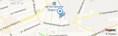 12 вольт на карте Ставрополя