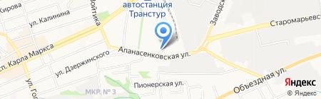 Культторг на карте Ставрополя