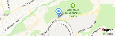 Петровичъ на карте Ставрополя