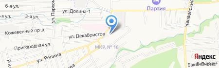 Детский сад №51 на карте Ставрополя