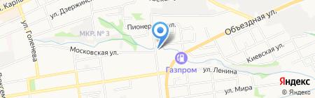 Гефест СТ на карте Ставрополя