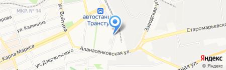 Академия здорового образа жизни Василия Скакуна на карте Ставрополя