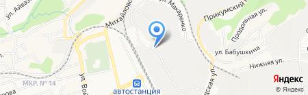 Крайзооветснаб на карте Ставрополя