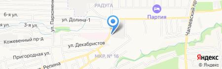 Инкубатор на карте Ставрополя