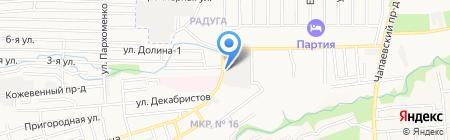 ЯНА на карте Ставрополя